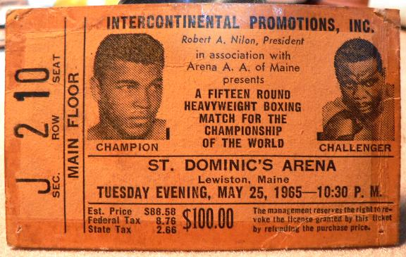 Muhammad Ali Vintage Boxing Autographs Tickets Posters
