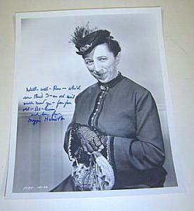 Margaret Hamilton autographs vintage signed photos memorabilia