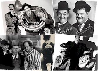 Celebrity Autographs Comedy Vintage